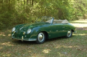 1952 - 356 PORSCHE SPEEDSTER CLUB