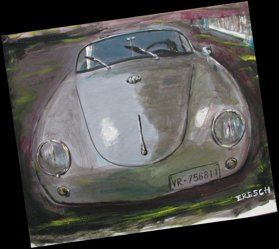 356 Motoring Art 356 Porsche Speedster Club